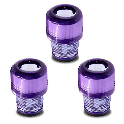 Paquete de 3 filtros de repuesto para aspiradora Dyson V11 sin cable, reemplazo de la parte 970013-02