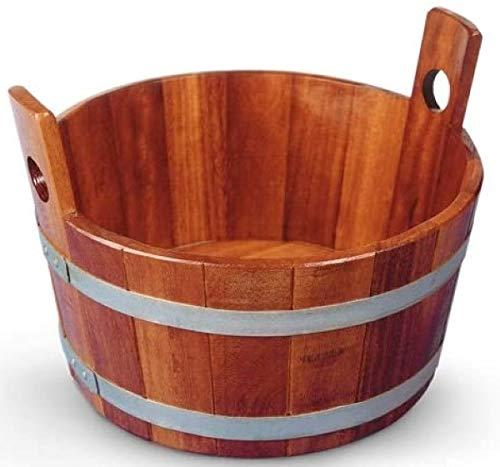 SudoreWell® - Vasca per sauna, in legno di kambala, con rivestimento igienico