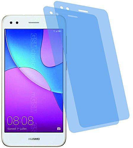 I 2X Crystal Clear klar Schutzfolie für Huawei Y6 Pro 2017 Bildschirmschutzfolie Displayschutzfolie Schutzhülle Bildschirmschutz Bildschirmfolie Folie