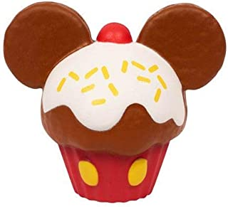 Kawaii Just Play Squeezies Mickey Cupcake, Multicolor