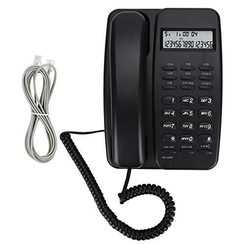 Vaste telefoon DTMF/FSK Desk, voor hotel/kantoor/privé, diefstal/terugbelfunctie/terugbellen/nummerherkenning/handsfree