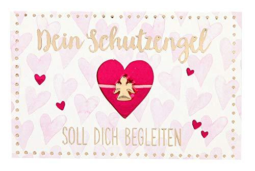 Depesche 10264 - Armband Schutzengel in Geschenkverpackung, sortiert