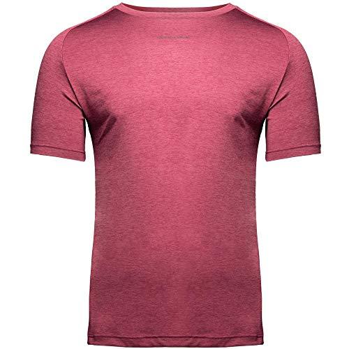 GORILLA WEAR Herren Top - Taos T-Shirt - Rag Muskelshirt Kleidung Muscle Shirts Red 4XL