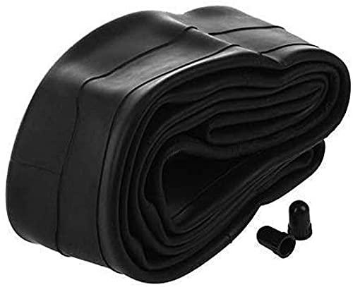 Neumáticos sólidos, Piezas de Bicicleta 16 X 1,75/2,125 Caucho Neumático de Tubo Interior de Bicicleta Negro Resistente al Desgaste