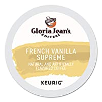 Gloria Jean's Coffees, French Vanilla Supreme K-Cup Portion Pack for Keurig Brewers 24-Count by Gloria Jean's