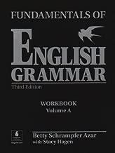 Fundamentals of English Grammar: Workbook with Answer Key, Vol. A by Betty Schrampfer Azar (2002-09-20)