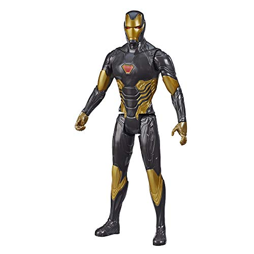 Avengers Marvel Titan Hero Series Blast Gear Iron Man Action Figure, 12-Inch Toy, Inspired by The Marvel Universe, for Kids Ages 4 and Up