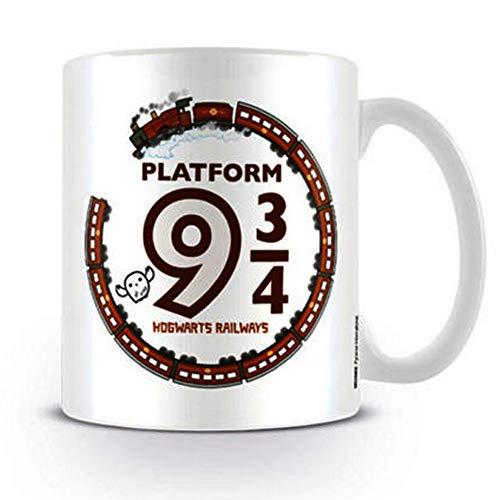 HARRY POTTER–Platform 93/4Taza de cerámica, Multicolor