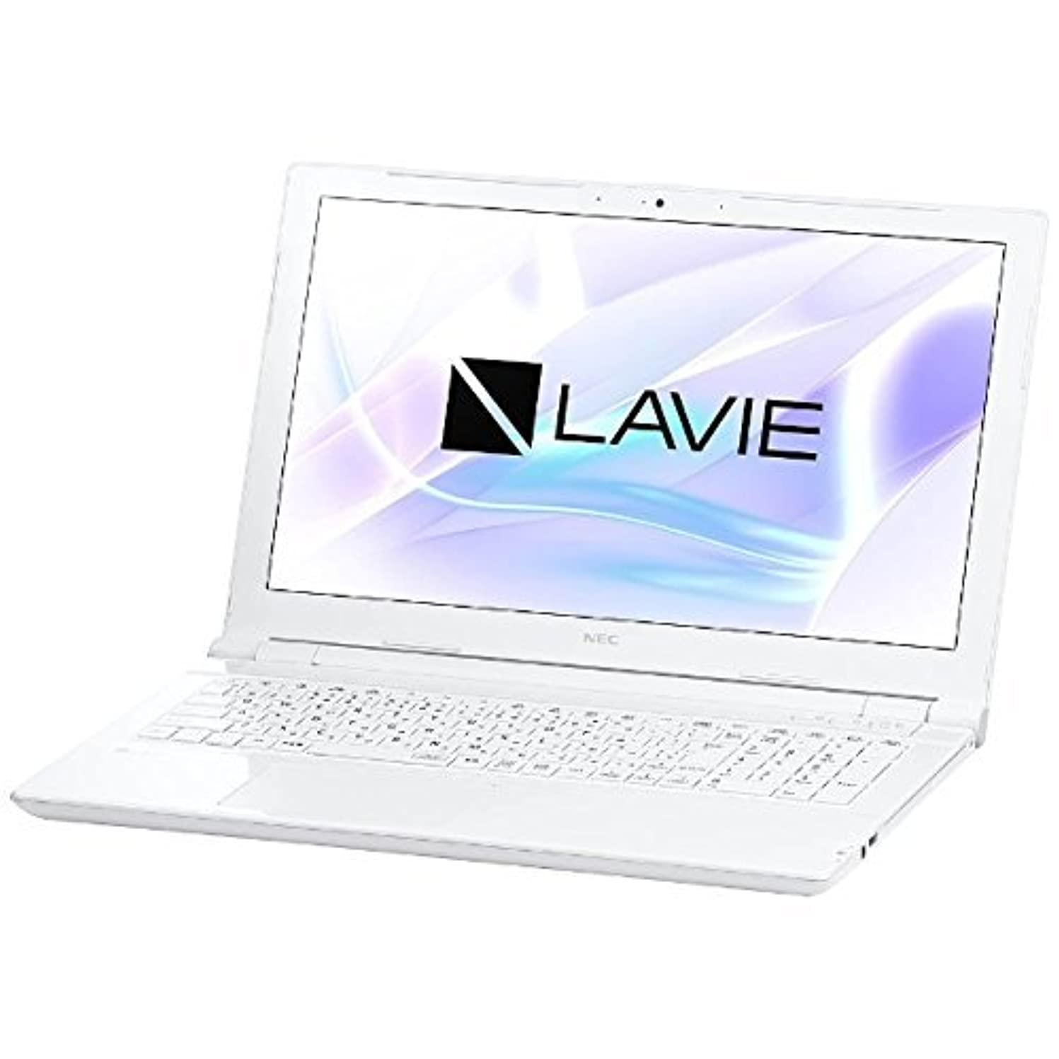 テザー提出する気体のNEC 15.6型ノートPC [Office付き?Win10 Home?Core i3] LAVIE Note Standard エクストラホワイト PC-NS300HAW