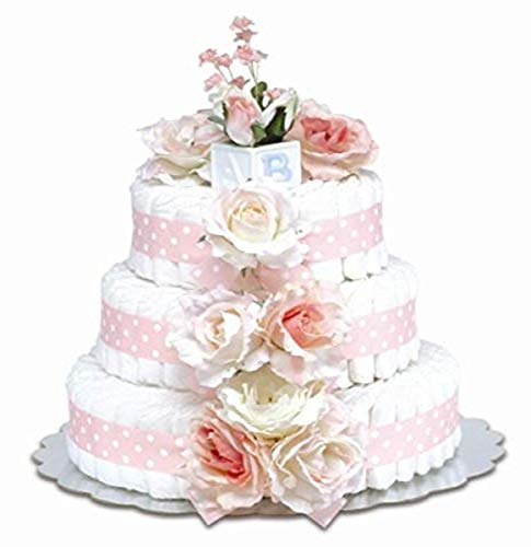 Bloomers Baby Diaper Cake Classic Pink...