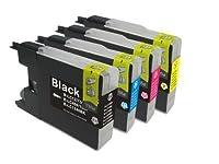 4色 セット Brother ブラザー MFC-J710D DCP-J740N DCP-J540N MFC-J6510DW DCP-J525N DCP-J725N DCP-J925N MFC-J705D MFC-J825N MFC-J955DN 等 対応 互換 インク
