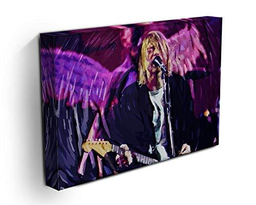 Canvas Art Rocks WTD - Lienzo Decorativo diseño Nirvana