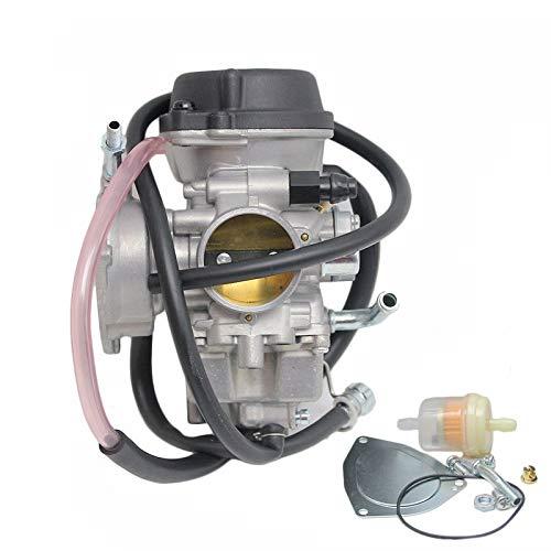 Carburecor al carburador de la motocicleta Carb 36mm PD36J carburador para ATV KFX 400 UTV LTZ400 / para Kawasaki KLF400 1993-1999 / para Hisun Forge350 Carburadores