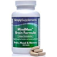 Vitaminas para la Memoria - ¡Bote para 2 meses! -180 Comprimidos - SimplySupplements