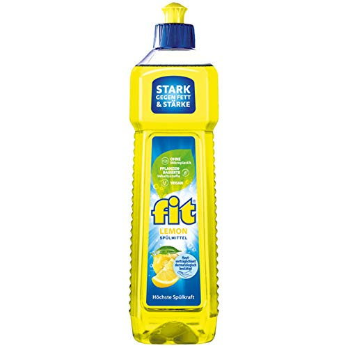 Detergente Lemon de alta fuerza de lavado fuerte contra la grasa, 750 ml