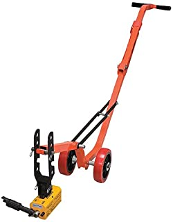 Allegro Industries 9401‐26 Magnetic Lid Lifter, Steel Dolly, Heavy Duty Magnet Lift, Weight 900 lb Flat Items, 450 lb Round Items