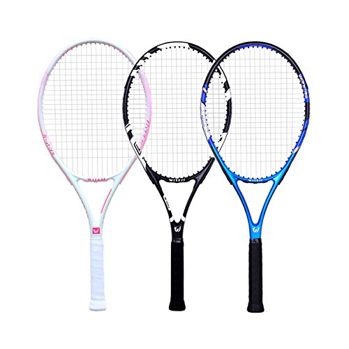 Mikelabo - Raqueta de tenis para césped, color azul, 27 unidades, para adultos, con amortiguador, raqueta de tenis de playa, adulto y mujer