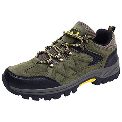 Kapian Wanderschuhe Herren rutschfeste Trekkingschuhe Maenner Bequeme Leichte Wasserdicht Outdoor Schuhe Männer für Sport Hiking Trekking-& Wanderhalbschuhe