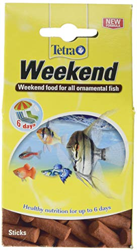 Tetra Weekend Holiday - Juego de 10 palitos de comida para peces