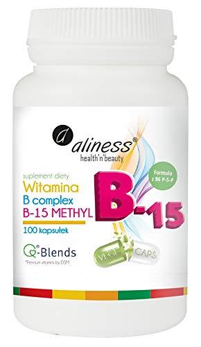 Vitamina B Metil Complex 100capsule ALINESS