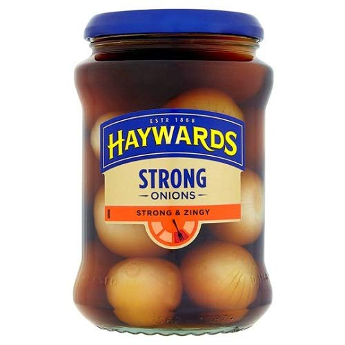 Haywards quality assurance Strong Zingy specialty shop Onions of 400g Pack 3