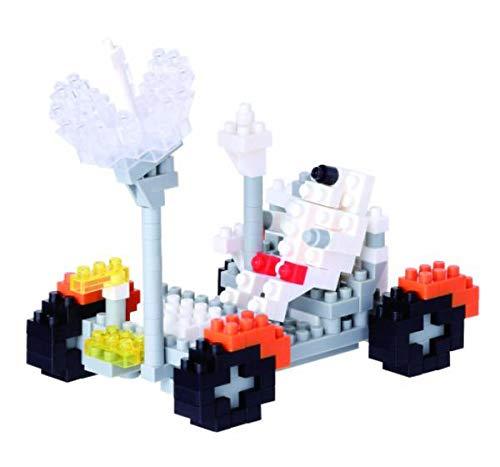 nanoblock NBH-085 - Lunar Rover maanvoertuig, minibouwsteen 3D-puzzel, Sights to zee serie, 250 delen, moeilijkheidsniveau 3, zwaar