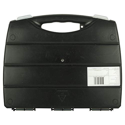 STANLEY STST73822-8 320x265x50mm Polycarbonate Small Organizer with 21 Separator Slots and Transparent Lid