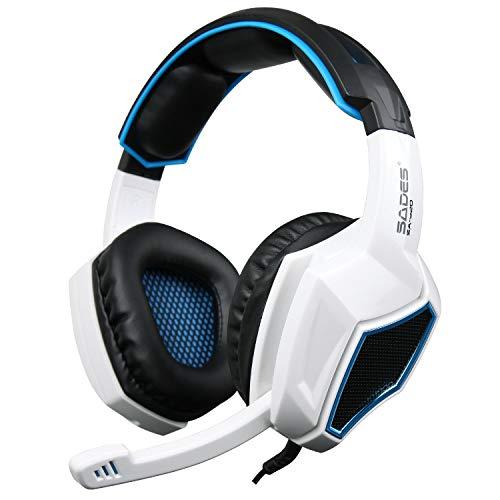 Gaming Kopfhörer für PS4,SA-708 GT 3.5mm Gaming Headset Spiel Kopfhörer Musik Kopfhörer Mit Mikrofon für PS4 Xbox 360 Tablet PC Mobile Phones