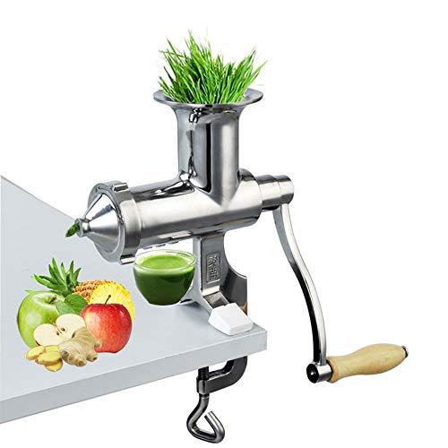ZGQA-GQA Hand roestvrij staal tarwegrass juicer handmatige vijzel trage squeezer fruit tarwe gras plantaardige…