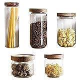 Keukenvoedselautomaat Tarra de almacenamiento de vidrio...