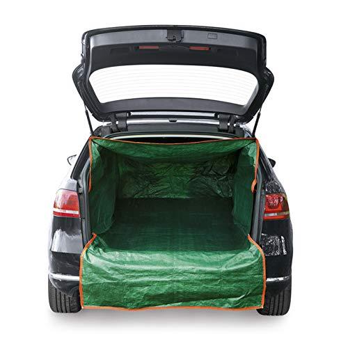PRIMA GARDEN Sac de transport de coffre pour les déchets de jardin| protection de coffre en taille universelle, fermeture à glissière, hydrofuge