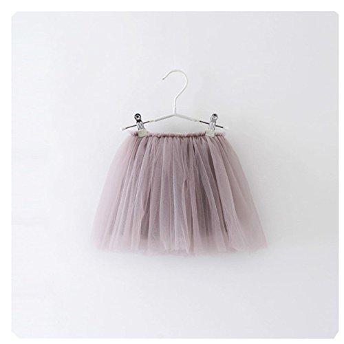 Sommer Mädchen Tutu Rock Weich Gaze Regenbogen Petticoat Bowknot Pettiskirt Tanzbekleidung