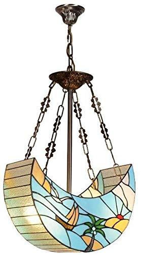 Kronleuchter Europäische schmiedeeiserne Kronleuchter Glas-Kronleuchter von den Vereinigten Staaten Wohnzimmer Kronleuchter kreatives Restaurant geführt Haushaltsbeleuchtung, stilvoll und schön