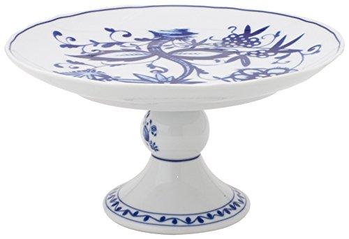 Kahla - Porcelaine pour les Sens 177609A72067U Rossella Zwiebelmuster Plat Surélevé Bleu 23,5 cm