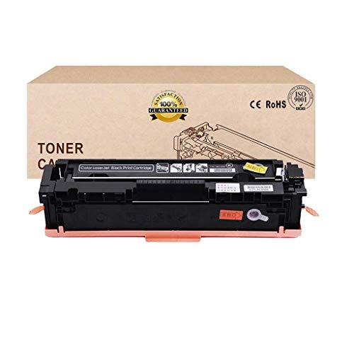 Compatible con CF410A CF411A CF412A CF413A Cartucho de tóner para HP Color Laserjet Pro M452dw / 452Dn / 452Nw / M377dw / M477fnw / M477fdn / M477fdw,Negro