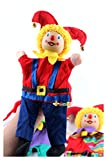 JSJJAEA Marioneta 2pcs / Lot bebé Payaso Mano Marionetas/tamaño Grande niños niño Peluche Juguetes para Regalos de cumpleaños Color Brillante Juguetes educativos
