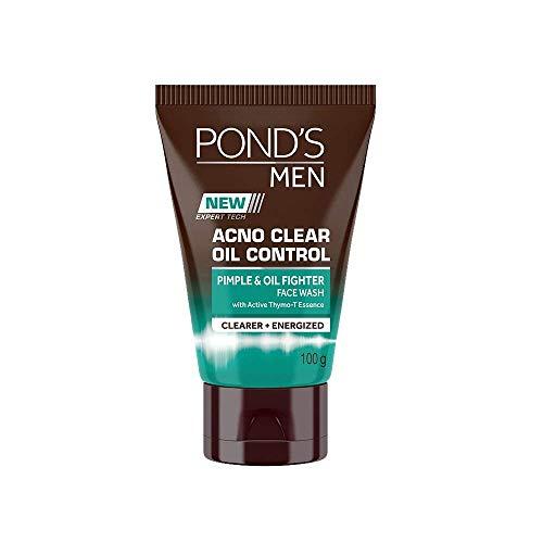 Pond Männer Acno Klar Oil Control Face Wash, 100g - (Verpackung können variieren)