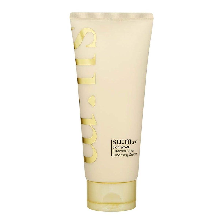 公使館自由祈り[スム37°] Sum37° スキンセイバー エッセンシャルクリアクレンジングクリーム ?Skin saver Essential Clear Cleansing Cream (海外直送品) [並行輸入品]