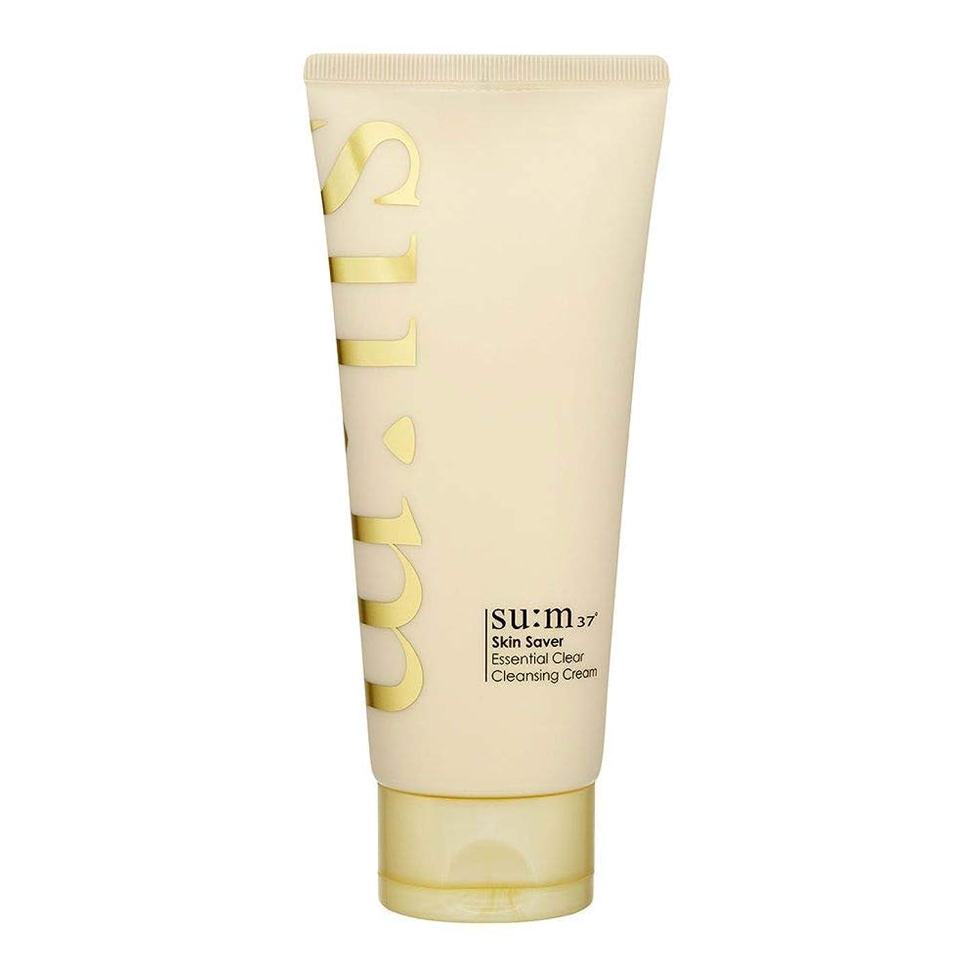 加速度アミューズメント真夜中[スム37°] Sum37° スキンセイバー エッセンシャルクリアクレンジングクリーム ?Skin saver Essential Clear Cleansing Cream (海外直送品) [並行輸入品]