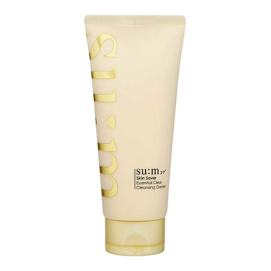 ガード櫛立場[スム37°] Sum37° スキンセイバー エッセンシャルクリアクレンジングクリーム ?Skin saver Essential Clear Cleansing Cream (海外直送品) [並行輸入品]
