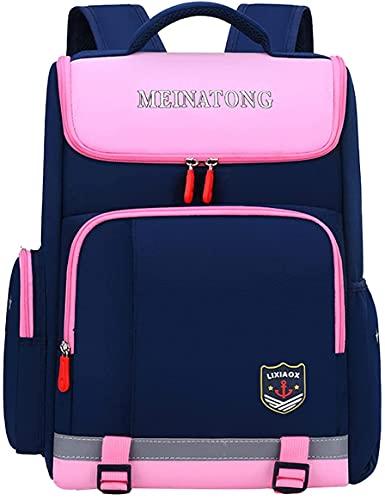 Bolsas escolares para niñas niñas nylon impermeable rucksack mack moda casual daypack mujeres bolso de libros bolsas de bolsas de la bolsa de los adolescentes Durable Unisex Mochilas de estudiante, Az
