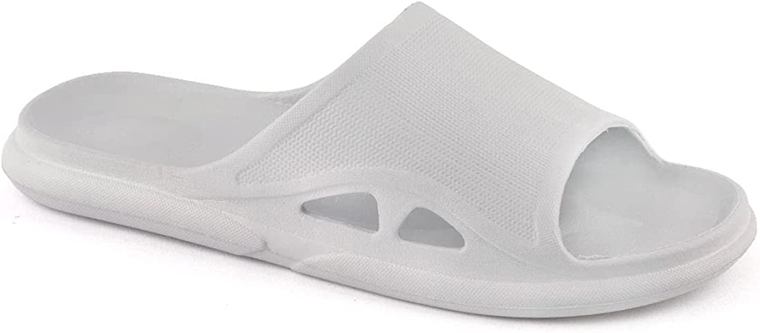 Women's Bathroom Shower Slippers Quick Drying Pool Slides Beach Sandals Open Toe House Slippers