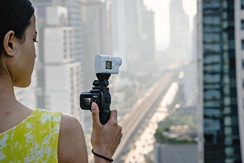 Sony FDR-X3000R 4K Action Cam mit BOSS Live View Remote Fernbedienung – weiß - 43