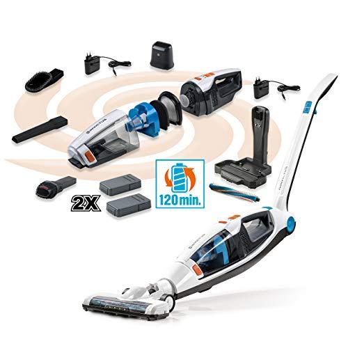 Genius A81120 Invictus M5 Akku kabelloser Staubsauger | Handstaubsauger | 35.000 U/Min | 160 Watt | 3 in 1 | LED-Lichter | Bodenstaubsauger | NEU (20tlg. Deluxe-Set), Kunststoff