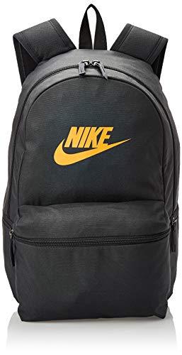 Nike Unisex-Erwachsene NK Heritage BKPK Tagesrucksack, Mehrfarbig (Anthra/Blck/Cone), 24x36x45 Centimeters