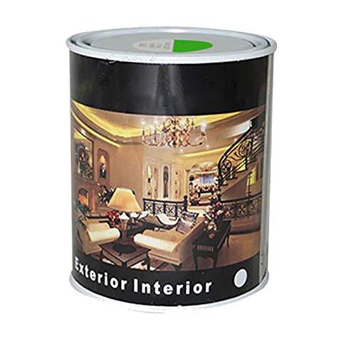 Pintura Esmalte al Disolvente para Madera y Metal, Pintura Alquidica de Rápido Secado para Superfícies Interiores y Exteriores(Verde Primavera, 375 ML)