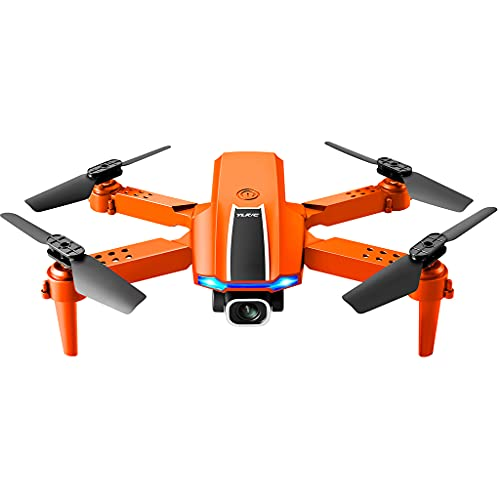 Hellery modalità Senza Testa 4 canali 2.4G RC FPV Drone 4K HD Camera Video in Tempo Reale in Tempo Reale Mantenimento dell'altitudine Controllo App Quadcopter - 1 Fotocamera 2 Batteria spenta
