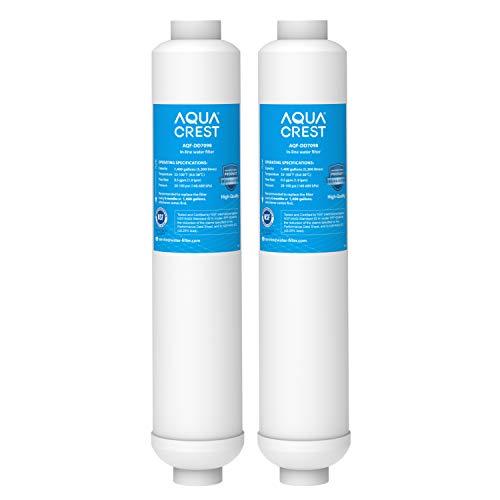 AQUACREST DD7098 Filtro de agua para refrigerador, compatible con Daewoo DD7098, 3019974100, DD-7098, 497818, Bosch KAN56, Neff K3940X6/01, Siemens KA58NA40GB/02 (2)