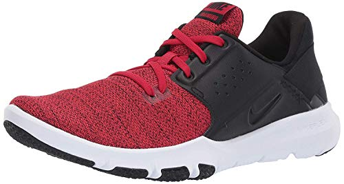 Nike Men's Flex Control TR3 Sneaker, Gym red/Black, 6 Wide US