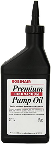 Robinair (13119) Premium High Vacuum Pump Oil, Pack of 1